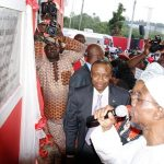 Commissioning of Omoluabi Garment Factory