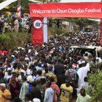 Day Nigeria the Beautiful Lit Up Osun Osogbo Festival