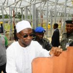 PHOTO NEWS: Aregbesola Inspects Pre-Fabricated School Building
