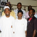 PHOTOS: Non-Academic Staff Union Of LAUTECH Visit The Governor