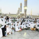 Osun Sets Record As First Nigerian Pilgrims To Arrive Makkah For Year 2013 HAJJ