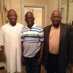 PHOTO NEWS: Aregbesola Visits Recuperated Tinubu