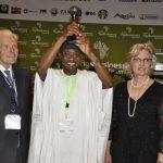 PHOTO NEWS: Aregbesola Wins Award On Agriculture, Innovation In Rwanda