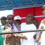 Aregbesola, Oshiomhole, Afe Babalola, Adebayo Rally Support For Fayemi
