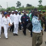 PHOTO NEWS: Aregbesola Joins Chief Judge At Road Walk Commemorating Legal Year