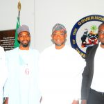 PHOTO NEWS: Jaiz Bank Managers Visit Aregbesola