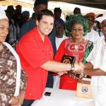 PHOTO NEWS: Venezuelan Ambassador Gives Books To Students On 3rd Anniv Of Aregbesola's Administration