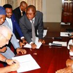 PHOTO NEWS: International Breweries Signs MoU With Osun Government