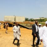 PHOTO NEWS: Inspection Of Ongoing Construction Projects In Osun