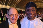 Mobilium Meets Visionary Governor Rauf Aregbesola Of The State Of Osun