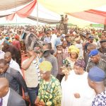 PHOTO NEWS: Public Assessment On Governor Aregbesola