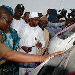 PHOTO NEWS: Osun Government Distributes 70 Commuter Busses To NURTW Members