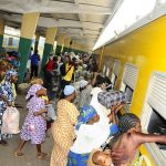PHOTO NEWS: Aregbesola Offers Free Train Ride From Lagos To Osun For Xmas Festival