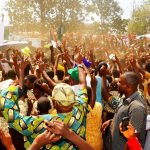 PHOTO NEWS: People Of Ijeshalland Support Aregbesola On 2nd Term In Office