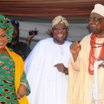 PHOTO NEWS: Aregbesola Celebrates 2013 Iwude-Ijesha Festival With Oba Adekunle Aromolaran