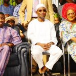 PHOTO NEWS: Gov.Aregbesola Joins Pastor Enoch Adeboye For End Of Year Prayers