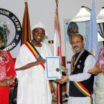 PHOTO NEWS: Aregbesola Decorated As Ambassador Of Humanity