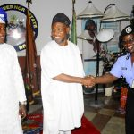 PHOTO NEWS: Chairman, Police Service Commission Visits Aregbesola