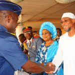 PHOTO NEWS: Aregbesola Launches Year 2014 Armed Forces Remembrance Day Emblem