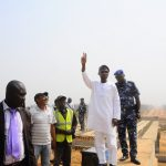 PHOTO NEWS: Aregbesola Inspects Ongoing East By Pass Road