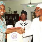 PHOTO NEWS: Minister For Water Resources Visits Aregbesola