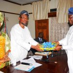 National Directorate OF Employment (NDE) Team Visits Aregbesola