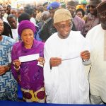 PHOTO NEWS: Governor Aregbesola Registers As APC Member In Ilesa