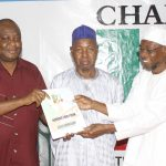 PHOTO NEWS: Aregbesola Submits Intention Form For 2nd Term In Office