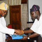 PHOTO NEWS: Gov Aregbesola Receives 2013 Hajj Operation Report II