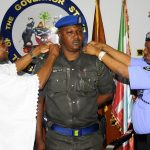 PHOTO NEWS: State Commissioner Of Police Decorates Gov. Aregbesola's ADC As Police Superintendent
