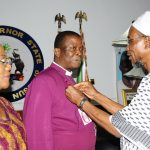 PHOTO NEWS: Primate Of The Church Of Nigeria (Anglican Communion) Visit Aregbesola