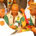 PHOTO NEWS: Aregbesola Turns Sod for Construction Of Ultra Modern Central Abattoir In Osogbo Zone
