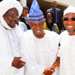 PHOTO NEWS: Osun Muslim and Christian Leaders Pay Solidarity Visit To Aregbesola