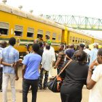 PHOTO NEWS: Osun Free Train Service Returns State And Non State Indigenes Back To Lagos After Easter Celebration