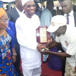 PHOTO NEWS: Nigerian Union Of Tailors Endorse Aregbesola For 2nd Term In Office