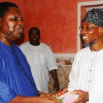 PHOTO NEWS: Ebenezer Obey Supports Aregbesola's Re-election