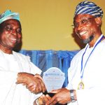 PHOTO NEWS: Aregbesola Wins Good Governance Award From UNILAG