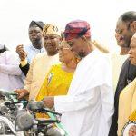 PHOTO NEWS: Aregbesola Distributes N600M Micro Credit To 18,000 Women