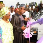 PHOTO NEWS: Aregbesola Gives Buses To Student Union Govts of State-Owned Tertiary Institutions