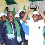 PHOTO NEWS: LAUTECH Teaching Hospital Presents Award On Meritorious Services To Aregbesola