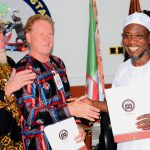 PHOTO NEWS: Aregbesola Signs MoU With Australian Firm on Gold Mining in Osun