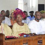 PHOTO NEWS: Aregbesola At Methodist Church Isale-Aro Osogbo