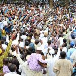 Tumultuous Crowd Of Residents Show Support For Aregebsola As Gov Calls For Peace On Sallah Day