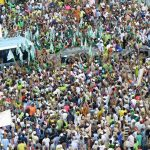 PHOTO NEWS: Senator Abiola Ajimobi Teams Up With Aregbesola Re-Election Campaign Rally In Ejigbo