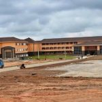 The Suspect Collapse Of The Main Hall Of Newly Completed High School, Ejigbo