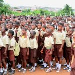 PHOTO NEWS: Nollywood Comic Actor, Mr Hafiz Oyetoro (Saka) Visits Osun Schools