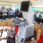 PHOTO NEWS: Aregbesola Commissions Hand-held Ultrasound Diagnostic (Touch Screen) Scanners