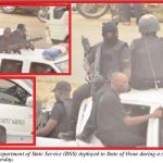 #OsunElection: Ahead Jonathan's Visit, 5,000 DSS Operatives Lay Siege To Osun
