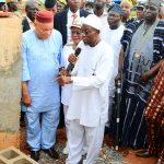 PHOTO NEWS: Aregbesola Turns Sod For Mini Bus Factory