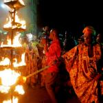 Osun-Osogbo Festival 2014: Lighting Of The 500-Year-Old Sixteen-Point Lamp #AtupaOlojumerindinlogun